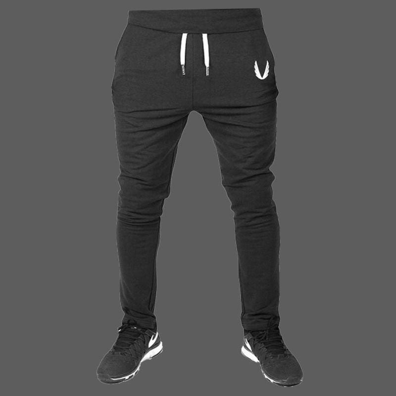 Men Sport Pants Casual Long Trousers Fitness Workout Joggers Gym Sweatpants