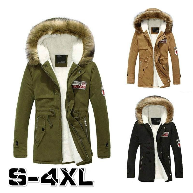 New Women Fur Coat Jacket Warm Winter Casual Parka Solid Stand Up Collar Outwear