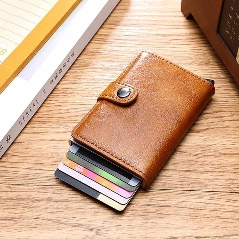 1x Hot Slim New Stainless Steel Money Clip Stylish Top Wallet Credit Card Holder