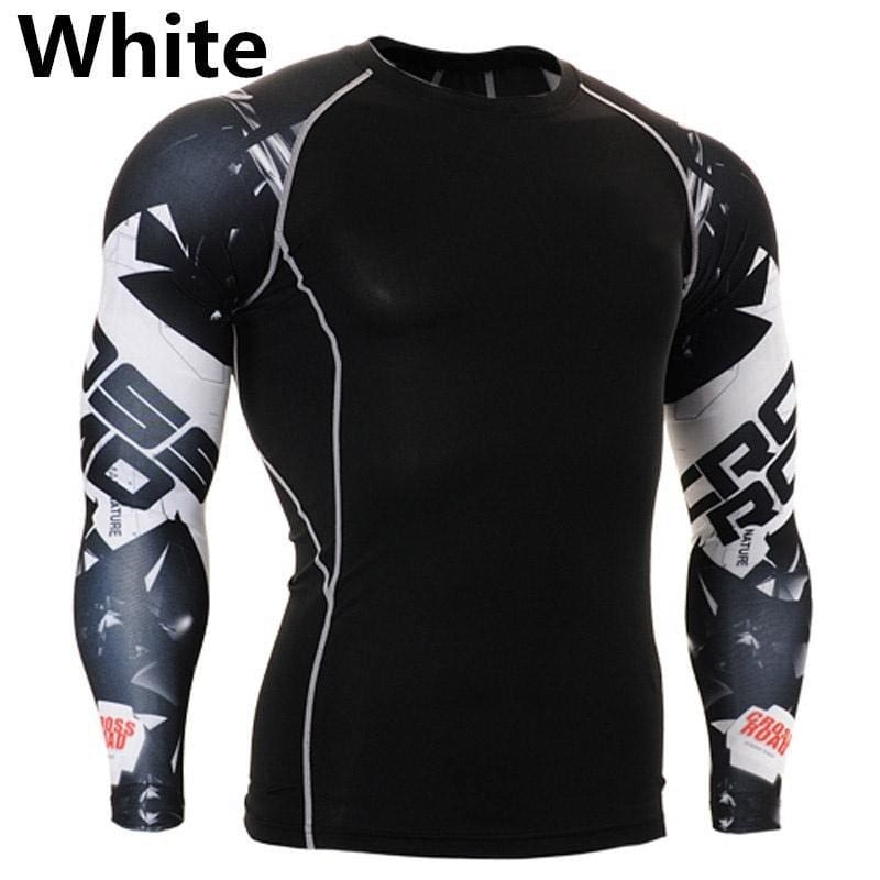 Fashion Men/'s T Shirts Crossfit Printing Man Sleeved Fitness Sport T-Shirts Gift