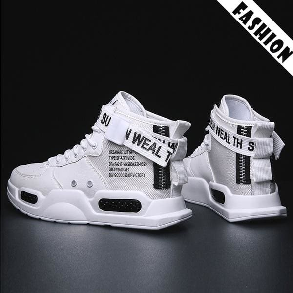 Men's Outdoor Casual Boots Trend High tops Sneakers Fashion Sports Shoes Popular Basketball Shoes
