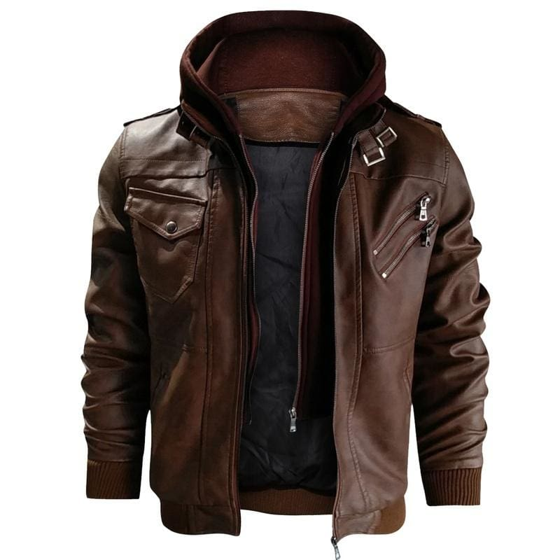 Lederjacke JULIAN | Jackets, Leather jacket, Motorcycle jacket