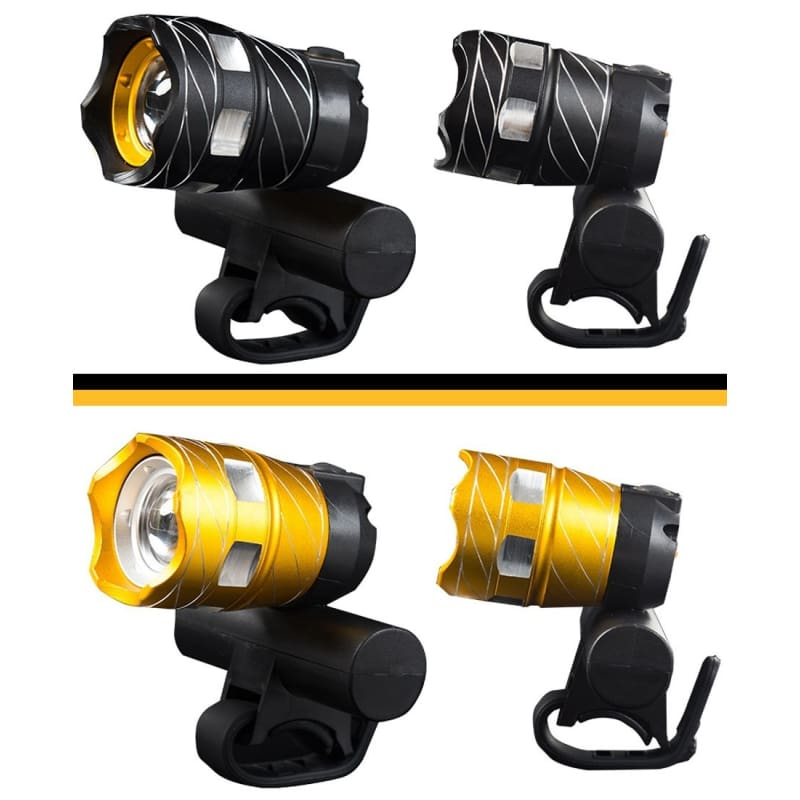 Rear Lamp USB Rechargeable 15000LM XML T6 LED ZOOM Head Bike Bicycle light
