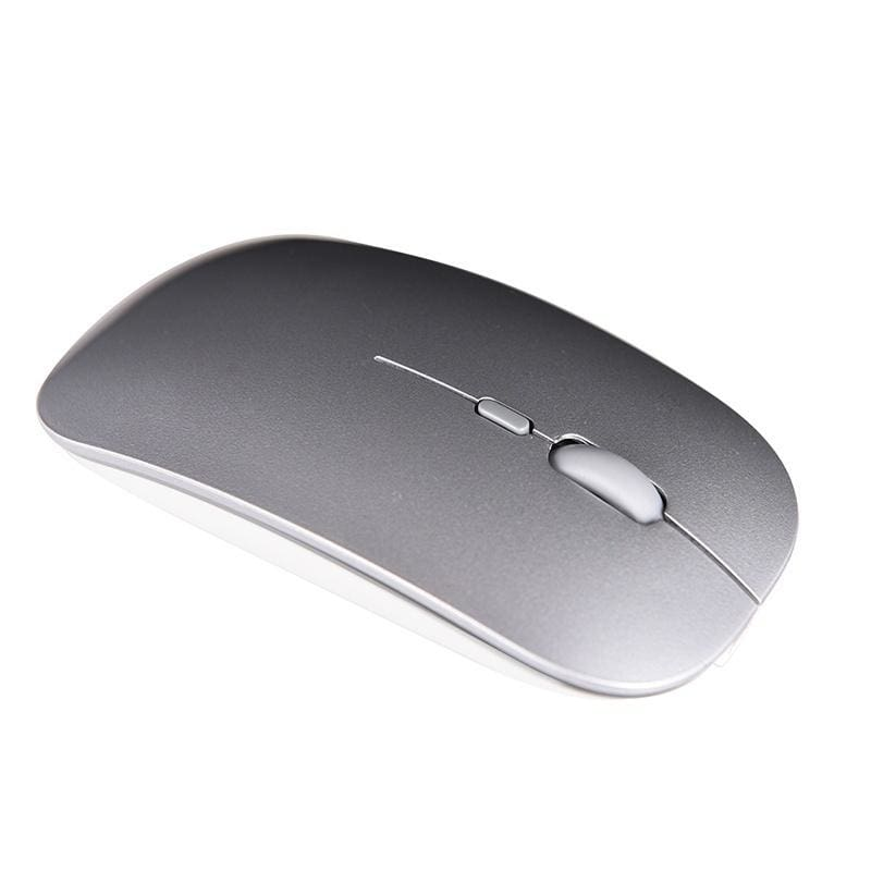 Rechargeable 2.4GHz Wireless Mouse Silent Button Ultra Thin USB Optical Mice Hot
