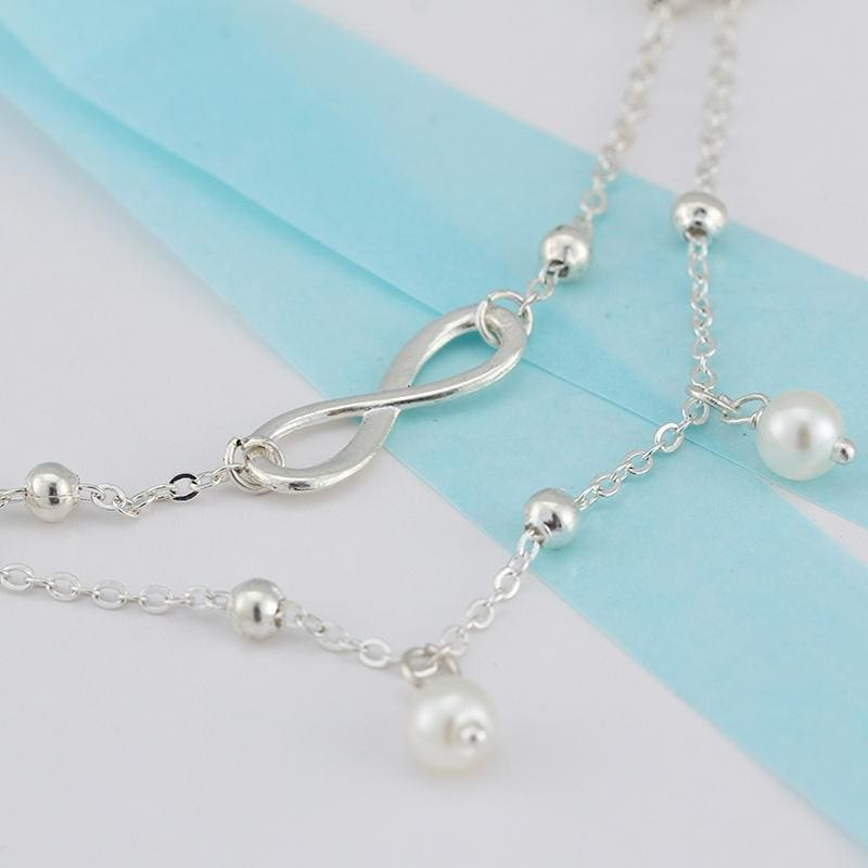 1PC Bracelet Jewelry Creative Accessories Anklet Leaf Shape Hollow-Out For Women