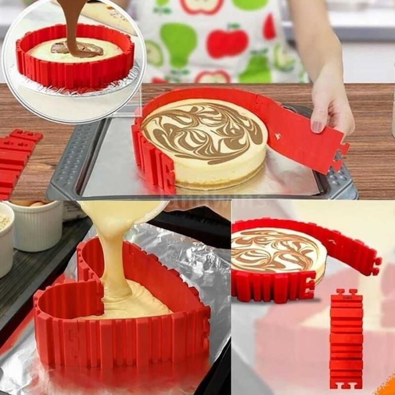 Cooking Silicone Decoration Cake Cake Mould Mold Fondant Baking Candy Fence DIY