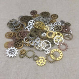 New Brand Mixed Vintage Promotions Jewelry Charms Jewelry Cogs & Gears Steampunk Cyberpunk Making Craft Arts Watch Parts