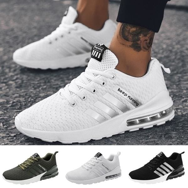 Fashion Men Running Sneakers Shoes Running Shoes Sports Outdoor Athletic New