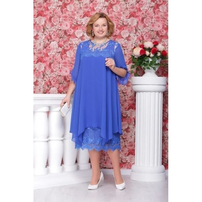 New Fashion Mother of The Bride Dress Groom Dress Lace Dress Plus Size Dress