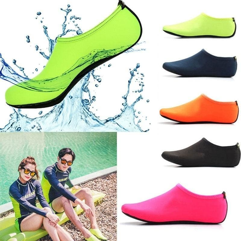 Kids Swim Socks Aqua Shoes Boots Beach Swimming Pool Surf Water Shoes Non-Slip