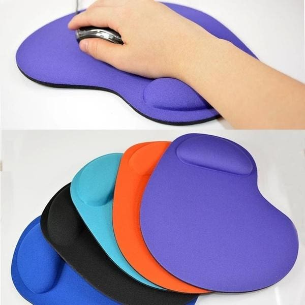 Anti Slip Wrist Rest Support Game Mouse Mice Mat Pad For Computer PC Laptop Soft