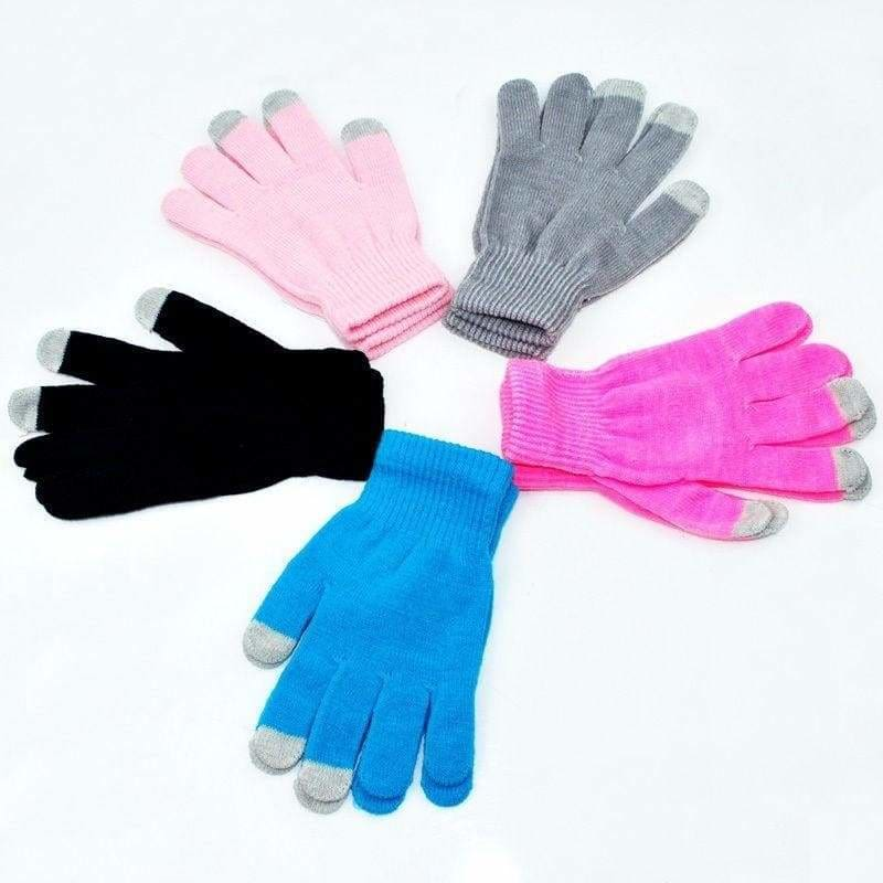 Winter Men Women Touch Screen Gloves Texting Capacitive Smartphone Knit Mittens