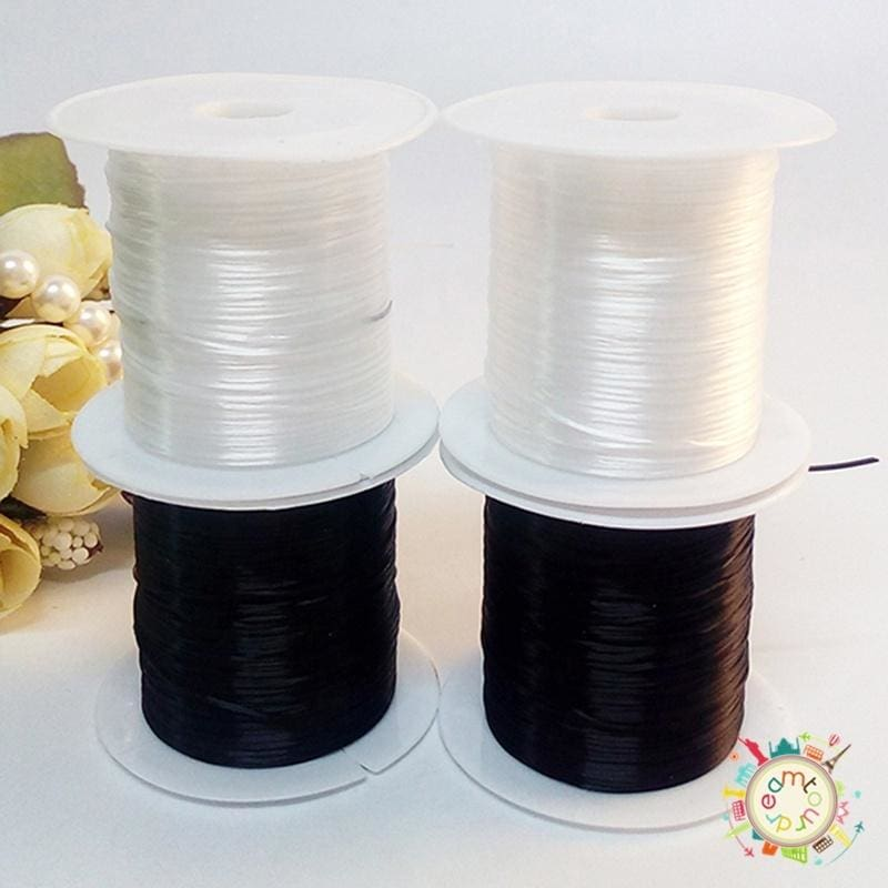 10 Pack Elastic Stretchy Beading Thread Cord Bracelet String For Jewelry Making