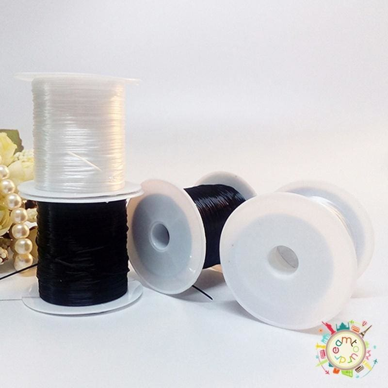 2 Strong Elastic Stretchy Beading Thread Cord Bracelet String For Jewelry Making