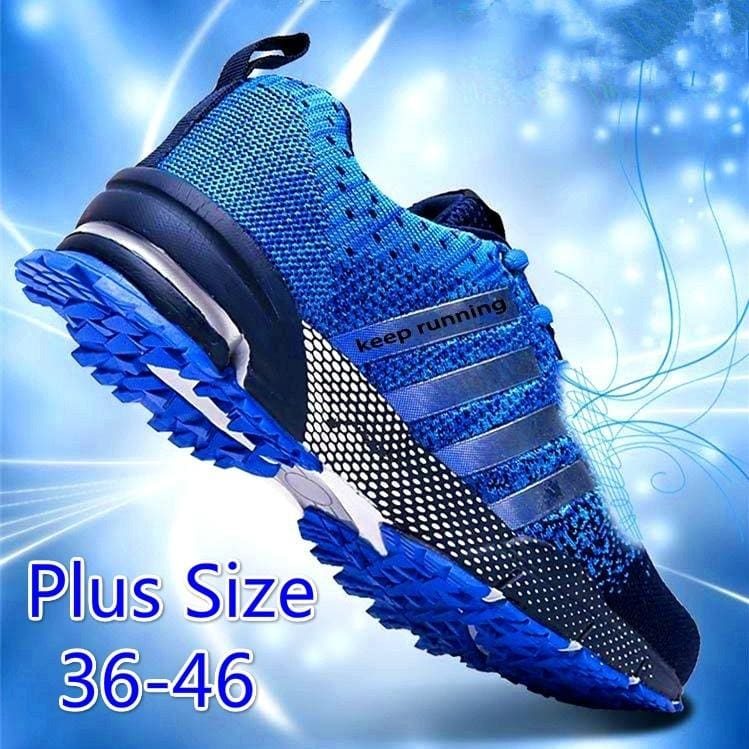 Women//Men Outdoor Breathable Running Shoes Casual Sports Tennis Sneaker Trainer
