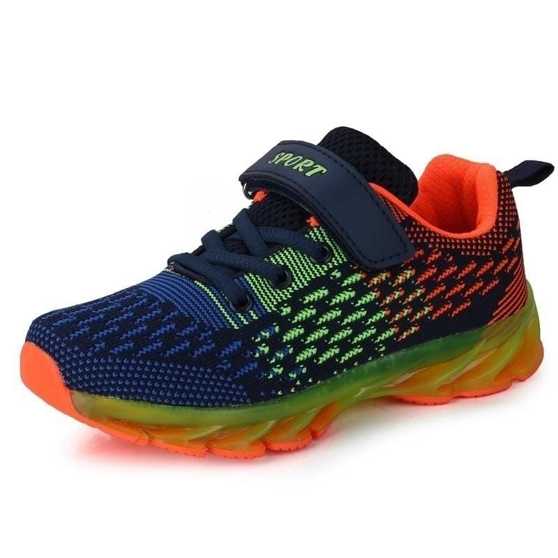 Unisex Kids Sneakers Boys Girls Breathable Outdoor Casual Sports Running Shoes