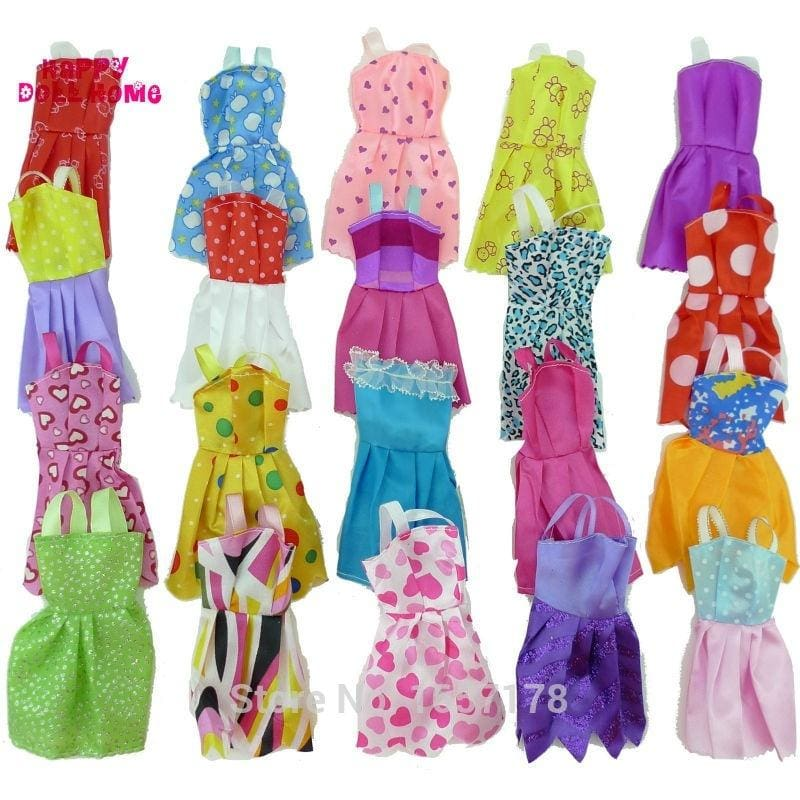 Fashion Handmade Clothes Outfit Leopard Plush Coat For  Doll Girls GiftJH