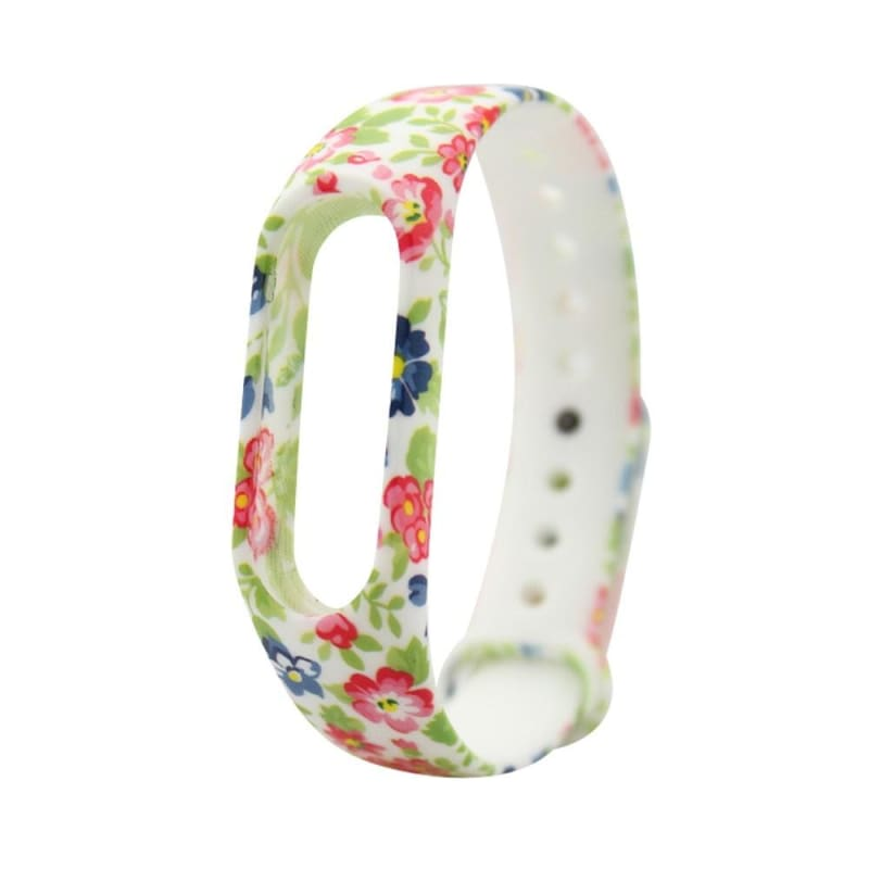 Replacement Silica Gel Watch Wristband Band Strap For Xiaomi Mi Band 2 Bracelet