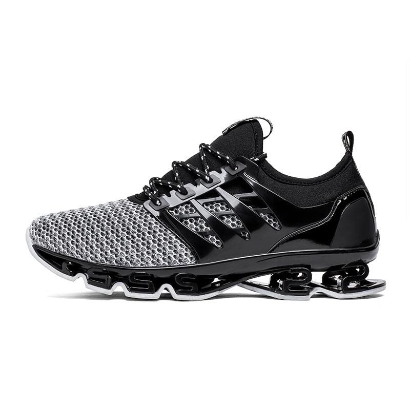 Gray Cool Men/'s Running Sports Shoes Mesh Sneakers Breathable Training Athletic
