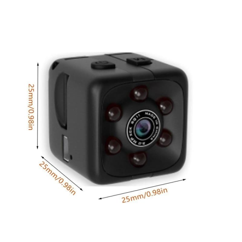 1080P HD 30FPS Mini Camera Night Vision Micro DVR Camcorder Motion Detection