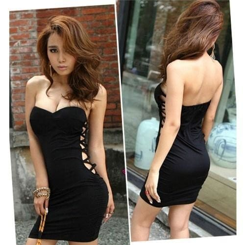 New European Padded Lace Mini Dress Clubbing Party Evening Wear Size 10 M