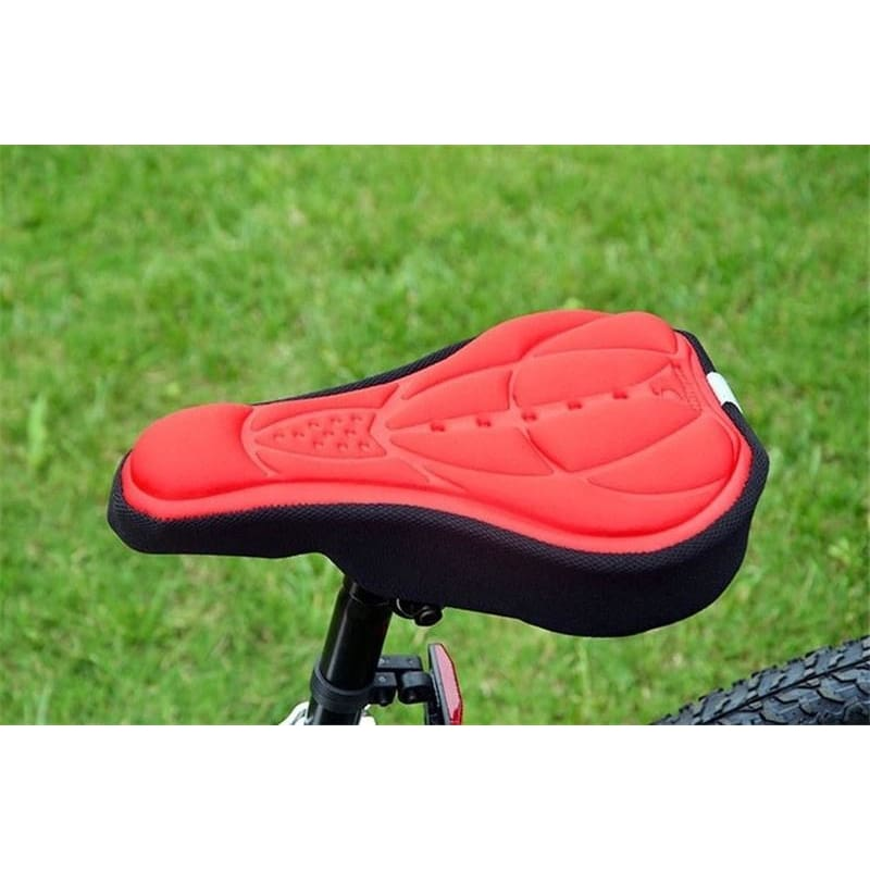 Comfort Soft 3D Pad Gel Cushion Cycling Bike Saddle Cover Bicycle Front Seat Mat