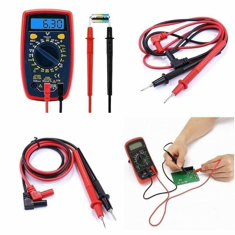 High Quality Digital Multimeter Multi Meter Test Electric Lead Probe Wire Pen #!