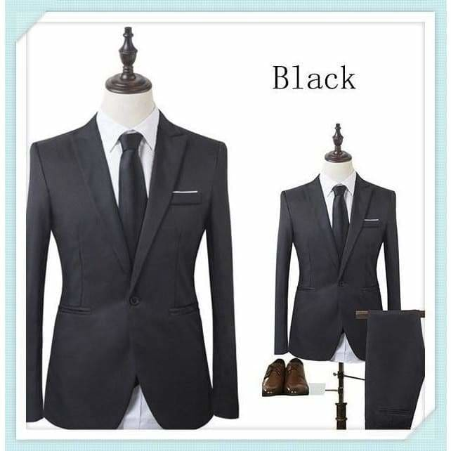 Men S Clothing New Men S Blazer Two Piece Suit Business Dress Wedding Jacket Pants Suit Leisure Puebla Tecnm Mx