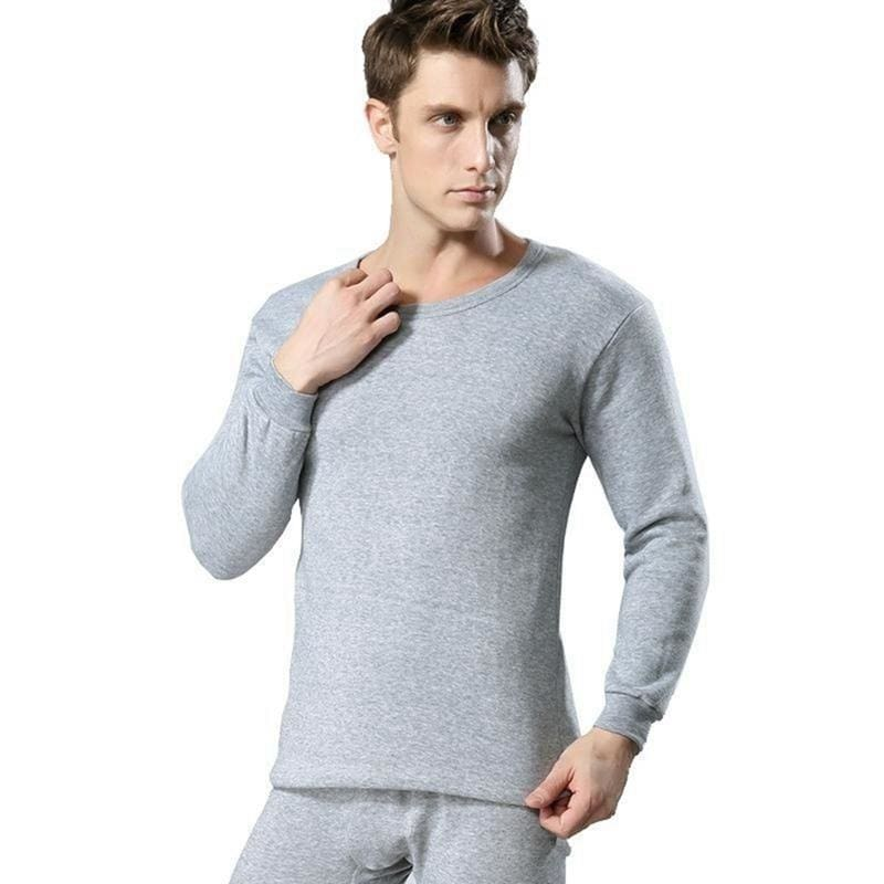 2Pcs Men Women Thermal Set Winter Warm Thicken Long Johns Tops Bottom Underwear