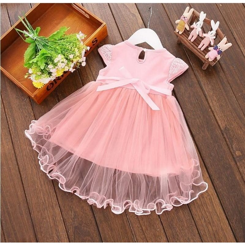 Infant Newborn Baby Girl Summer Floral Princess Tutu Dresses Party Wedding Gown