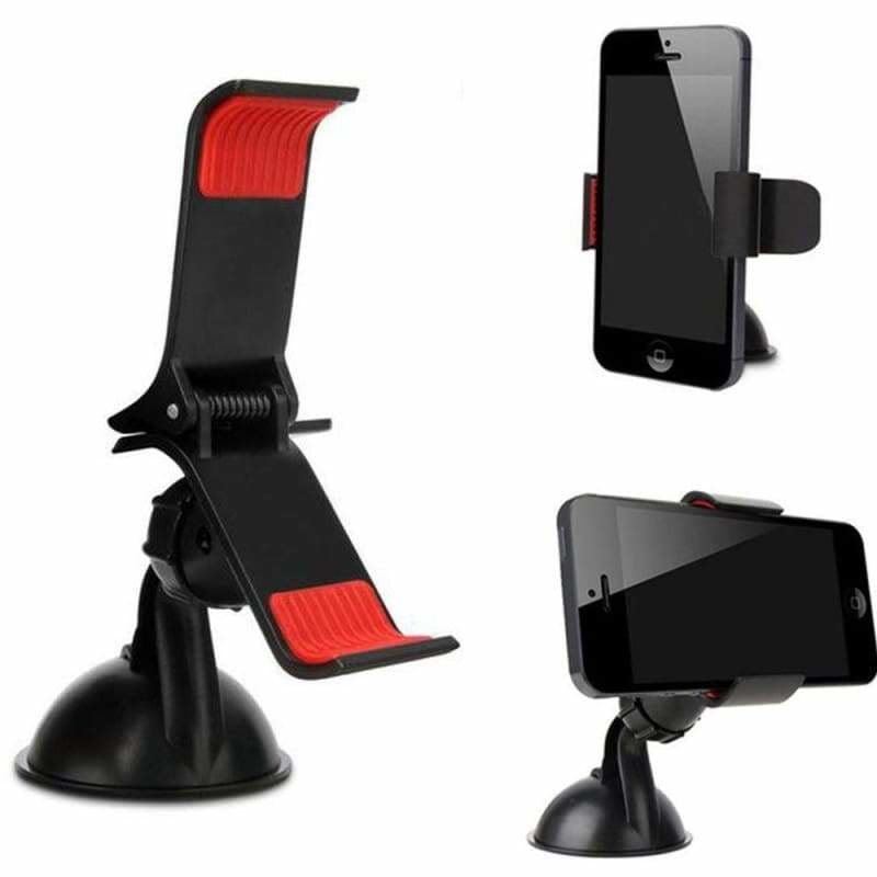 Car Phone Holder Stand Dashboard Mount Windshield Stand