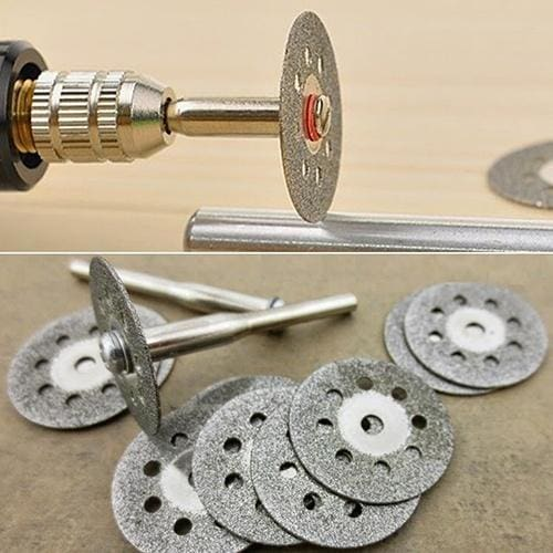 8pcs Rotary Tool Grinding Wheels Saw Blades Discs kit for Drill Angle Grinder