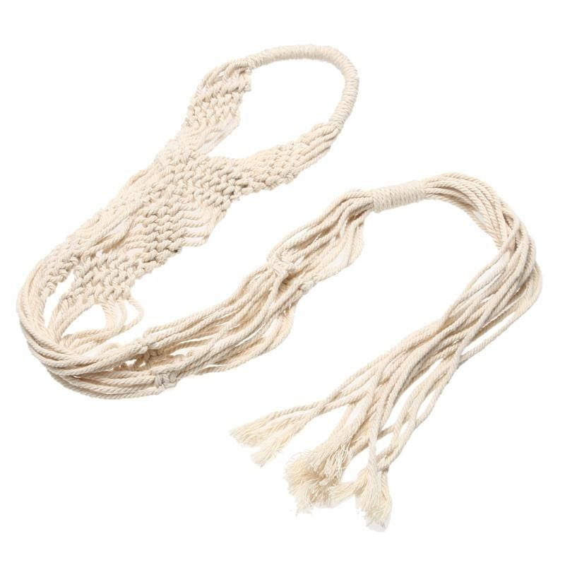Craft Knotted Macrame Nylon//Jute Rope for Basket Flowerpot Holding Hanging Dec