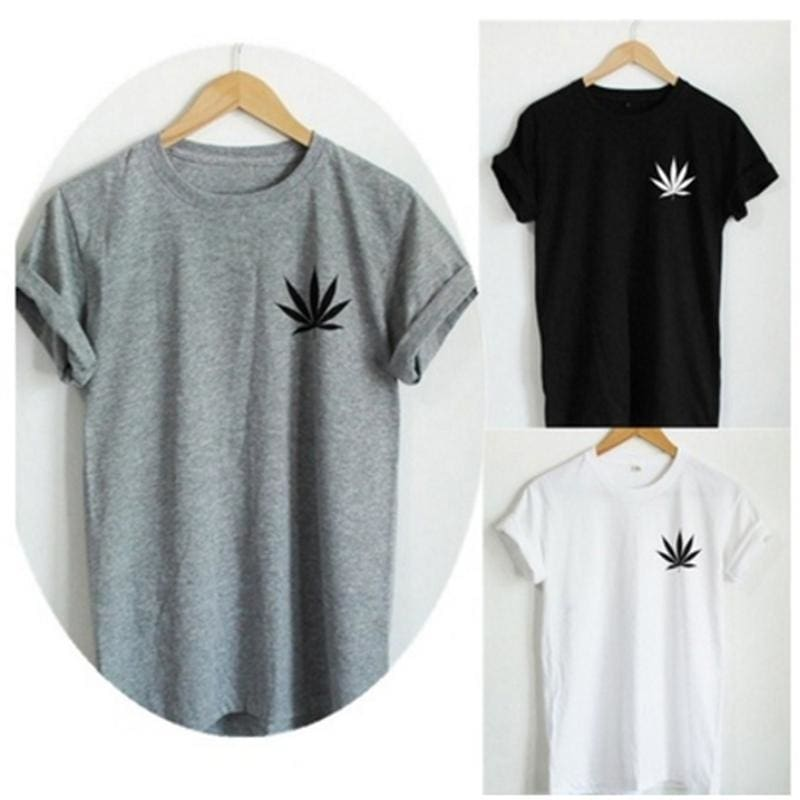 Weed Plant T Shirt Marijuana Cannabis Leaf Graphic Tee Fashion Women T Shirt Casual Cotton Funny Shirt