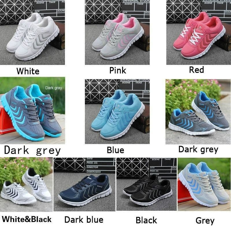 New 2019 Fashion Men/'s Casual Breathable Sports Mesh sneakers running shoes Lot