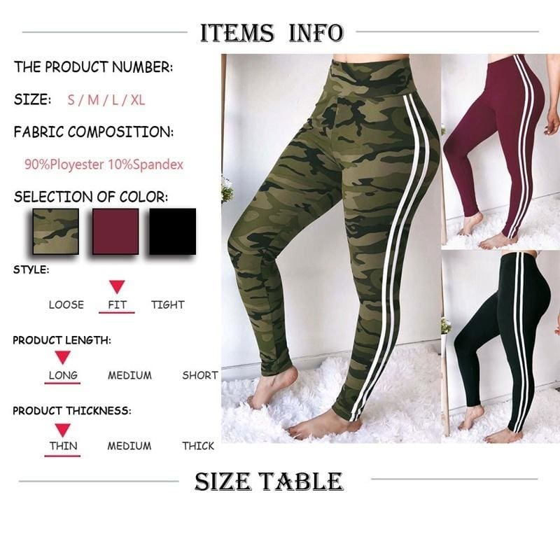 Women/'s Pattern Printed and Solid Colored Casual Stretchy High Elastic Leggings
