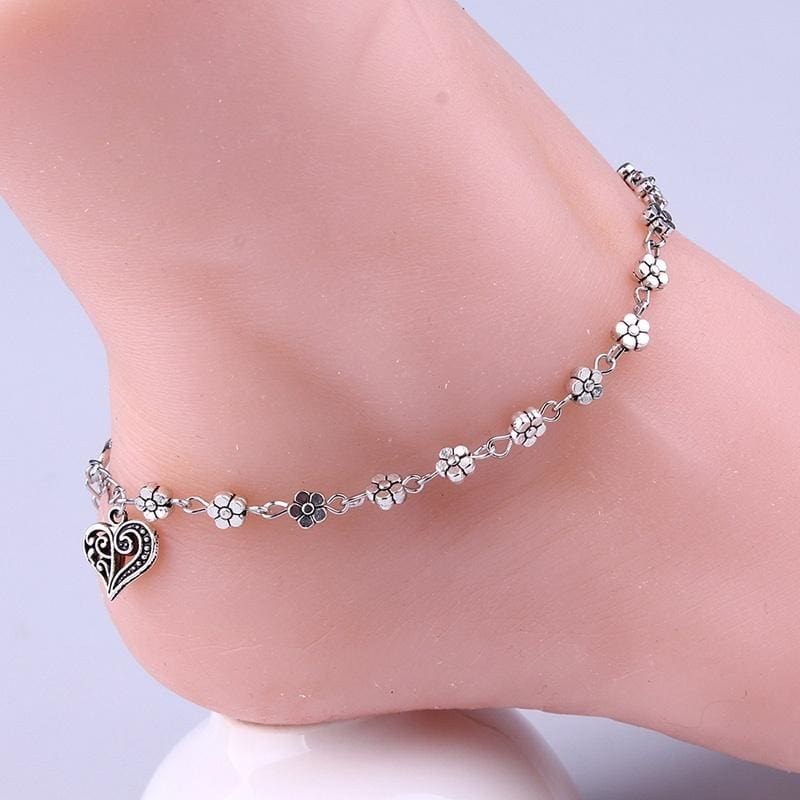 Ladies Ankle Bracelet Sandal Beach Anklet Foot Jewelry Chain Pearl Turquoise Hot
