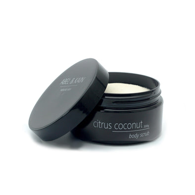 Citrus Coconut Body Scrub