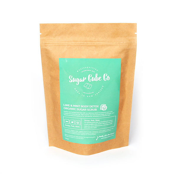 Lime & Mint Body Detox Organic Sugar Scrub