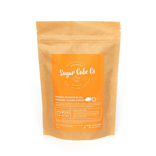 Mango Passion Bliss Organic Sugar Scrub