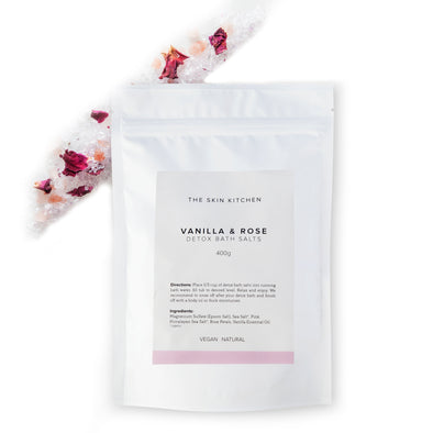 Vanilla & Rose Detox Bath Salts