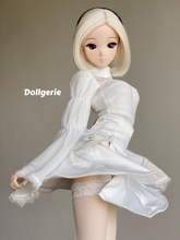 2B Action-Flow White Mini Skirt