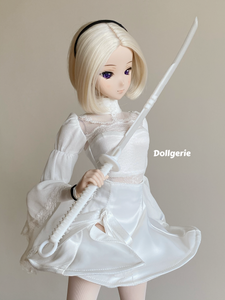 1/3 Kanata Sword (3D Printed in White Resin)