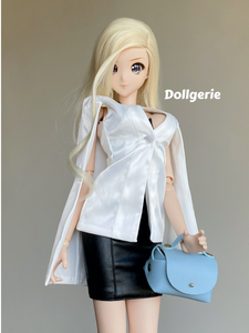 White Cape Blazer for SmartDoll