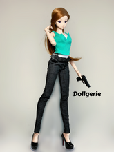 Dark Grey Slim Fit Pants for SmartDoll