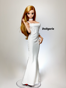 Dollgerie Pearl White Nightgown