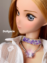 Purple Choker Necklace (from Dollsories)