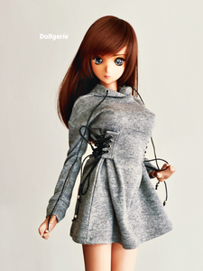 Hooded Mini Dress for SmartDoll & DD S-M-L bust