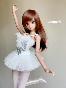 The Classic White Ballet Tutu Dress for SmartDoll or DD