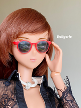 1/3 Red Oval Sunglasses (made by EPOCH)